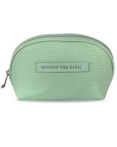 Canvas Cosmetic Bag - Green