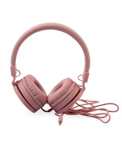 Fashionable Wired Headset - Pink